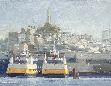 Two Ferries from SF